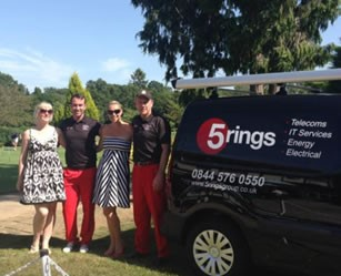 5 Rings company golf day