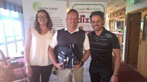 Dizzy Golf Day Winner