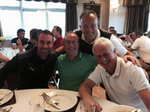 Players at Dizzy Golf Day