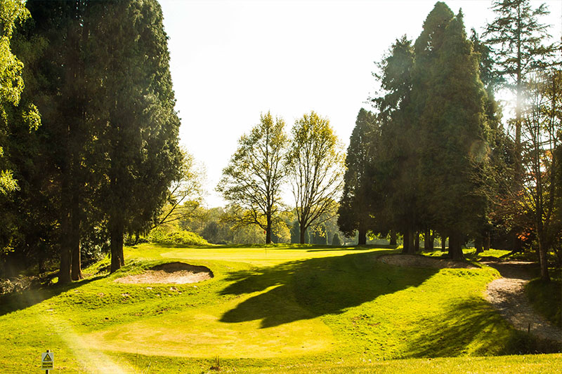 Gatton Manor golf club, Surrey, Dorking golf course