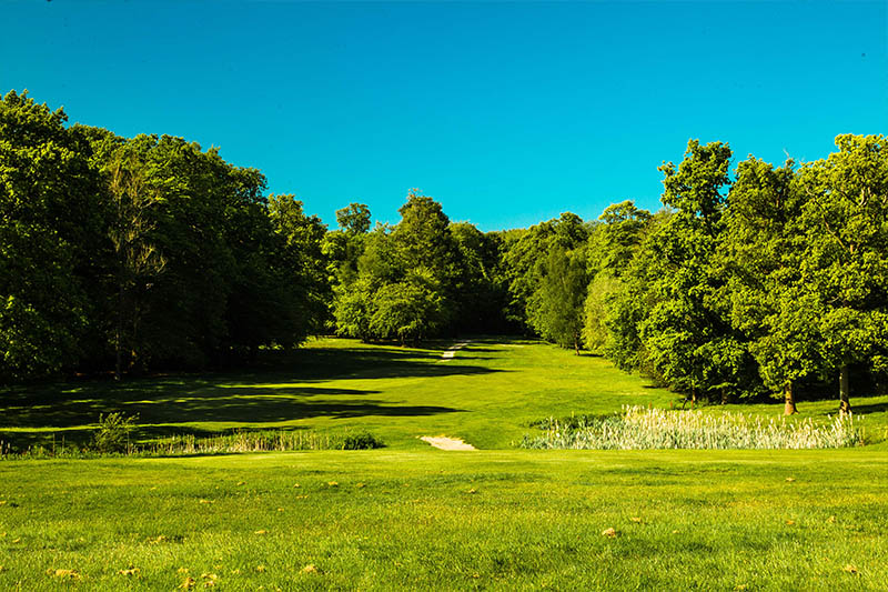 Gatton Manor golf club, Surrey, Dorking view