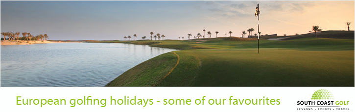 European golfing holidays - some of our favourites
