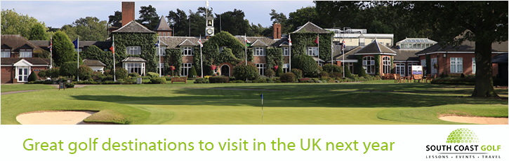 Great golf destinations to visit in the UK next year